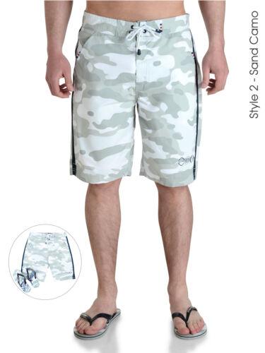 Smith /& Jones Uomo Casual Estate Spiaggia Surf Swim Pantaloncini e Infradito Set