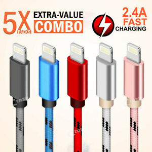 5X-1M-2M-For-Apple-iPhone-12-11-Pro-XS-Max-XR-X-8-7-6-5-Plus-Fast-Charging-Cable
