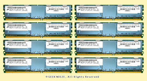 Server-RAM-32GB-8x-4GB-PC2-5300F-FB-DIMM-Fully-Buffered-DDR2-667-ECC-REG-Memory