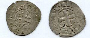 Gertbrolen-Philippe-IV-dit-Le-Bel-1285-1314-Double-Tournois-Exemplaire-N-8