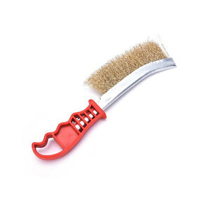 Heavy-Duty-Spid-Wire-Hand-Brush-Stainless-Steel-Bristles-Rust-Paint-Removal-New