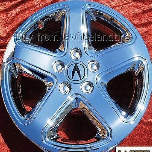 """SET OF 4 CHROME 17"""" ACURA CL TYPE-S OEM FACTORY WHEELS"""