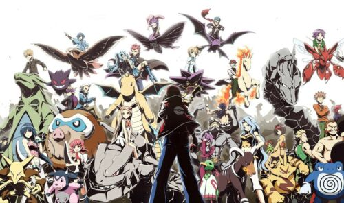 112 Pokemon HeartGold /& SoulSilver CUSTOM PLAY MAT ANIME PLAYMAT FREE SHIPPING