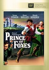 PRINCE OF FOXES (Tyrone Power)   -    DVD - UK Compatible  - Sealed