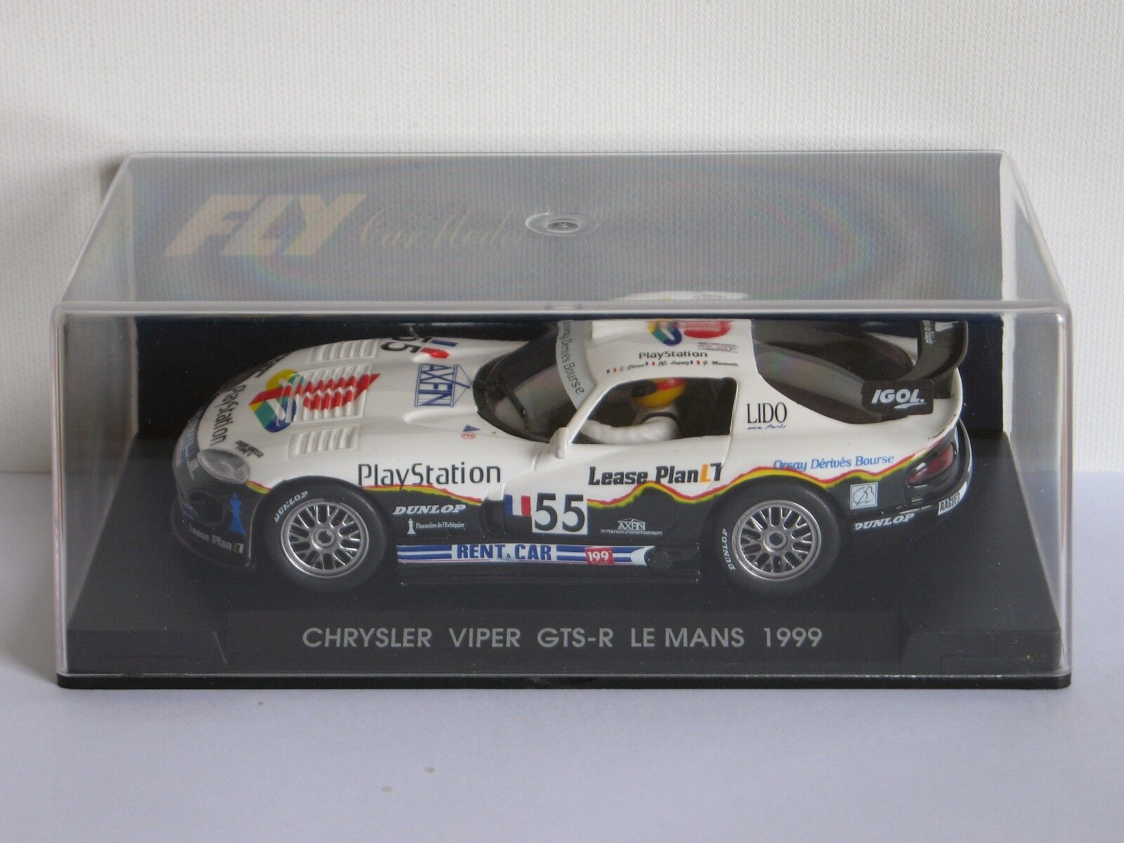 FLY Car Chrysler   Dodge Viper GTS-R Le Mans 1999 - PlayStation - Ref. A85