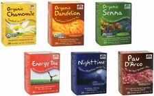 NOW Foods Premium Quality Tea Varieties, 24 Bags / box - Natural & Healthy!