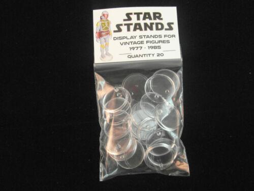 Pack de 30 Star Wars Vintage Figurine D/'Action Présentoirs Palitoy Kenner 1977
