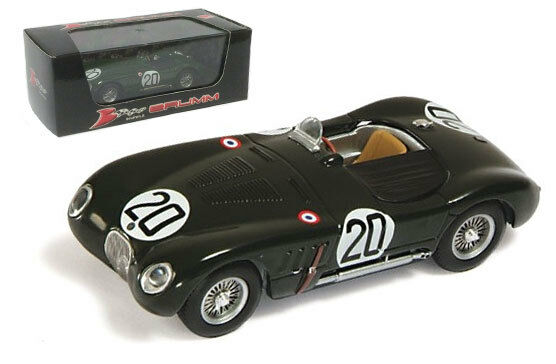 Brumm R356 Jaguar XK120C  20 Le Mans  Winner 1951 - Walker blanchead 1 43 Scale  en solde 70% de réduction