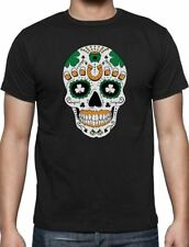 47277a2c45a7a item 2 St. Patrick s Day Irish Sugar Skull Clover Tricolor Ireland Flag T- Shirt Gift -St. Patrick s Day Irish Sugar Skull Clover Tricolor Ireland  Flag ...