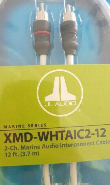 12 ft. 3.66 m JL Audio 2-channel Marine Audio Interconnect Cable