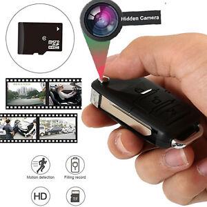Hidden Spy Mini Car Key Fob Dvr Motion Detection Camera Cam Video