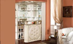 ... Barecke Wohnzimmer Bar Eckbar Theke Bar Moebel Beige