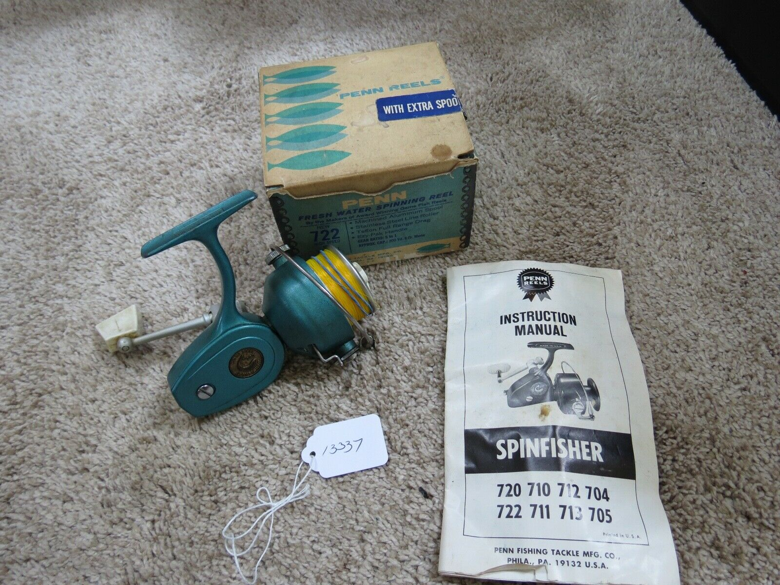 Penn 722 fishing reel made in USA (lot 13337)