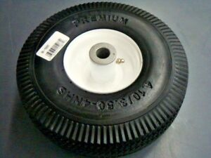 Details about 15087 Flat Free Toro TimeCutter Z Front Wheel Tire  4 10/3 50-4 105-3471