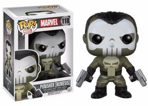 Funko Funko Funko POP  Marvel Punisher Nemesis 118 Vinyl Bobble-Head 4df70c