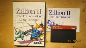 Zillion-II-2-Triformation-for-Sega-Mastersystem-Boxed-with-Manual