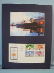 The-Royal-Yacht-Britannia-amp-First-Day-Cover-of-Queen-Elizabeth-039-s-Silver-Jubilee