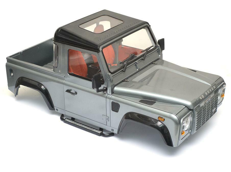 RC 1 10 Land ROVER DEFENDER 90 Plocka upp DK90 Scale Truck Hard Body W  SNORKEL