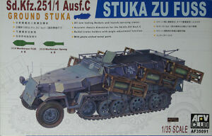 AFV-Club-SdKfz-251-1-Ausf-C-1-35-Scale-Kit