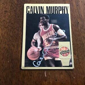 100 plus Assorted Basketball cards. 4 Rookie cards . Autographed Calvin Murphy