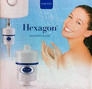 Hexagon-Bath-Shower-Head-Water-Filter-A-Replacement-Water-Filter-Cartridge