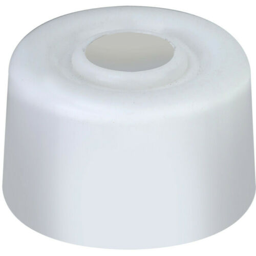 PVC Door Stops Black or White Floor Mounted Wall Protector Stop Jam Stoppers