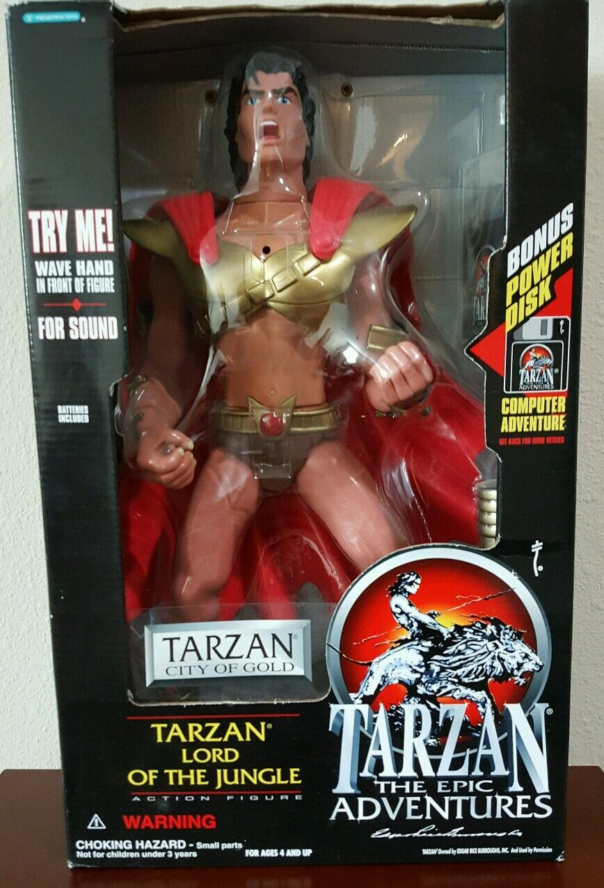 Tarzan Lord Of The Jungle 12 inch  Trendmasters Exclusive Collectible