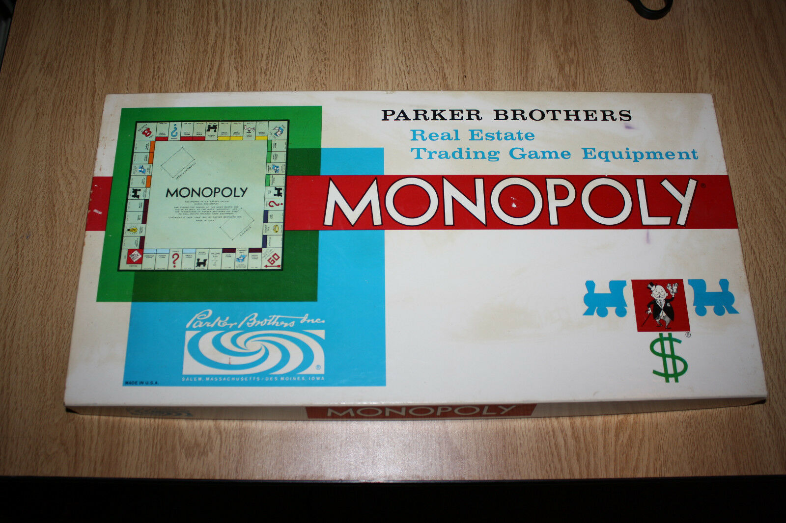 Monopoly Game 1961 Never Never 1961 Used FREE SHIPPING 018600