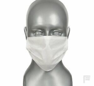 Mascherina biancha - maschera per il viso (x 25)