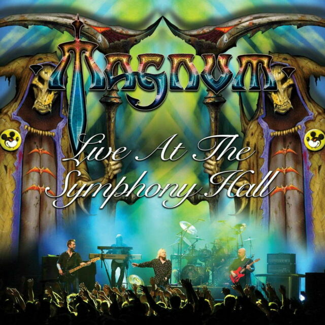 MAGNUM-LIVE AT THE SYMPHONY HALL-JAPAN 2 CD G35