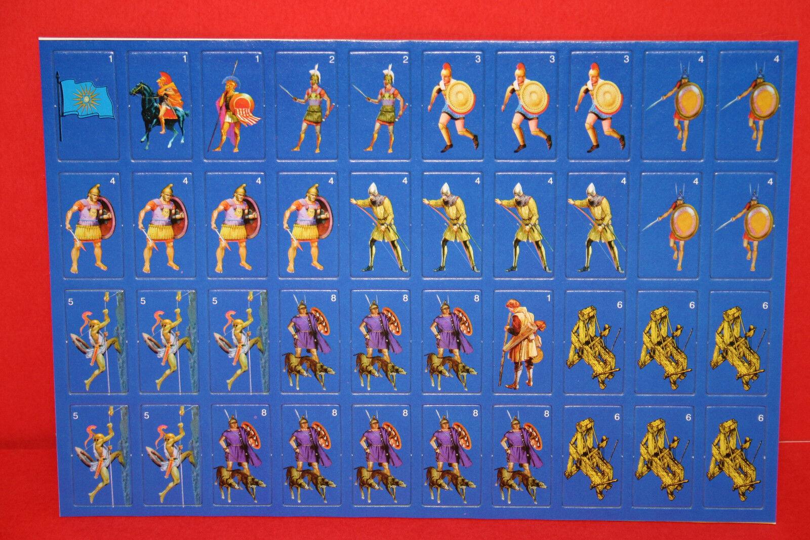 ALEXeER THE GREAT VINTAGE STRATEGY tavola tavola tavola gioco ANCIENT WARFARE BATTLEFIELD 039b3e