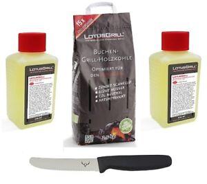 LotusGrill-Buchenholzkohle-2-5-kg-und-2xBrennpaste-inkl-Edelwild-Allzweckmesser