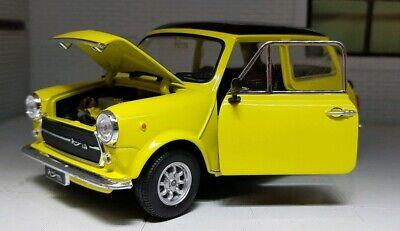 Mr Bohne Austin Mini Mk3 Cooper Zitronengelb Green 1:24 Maßstab