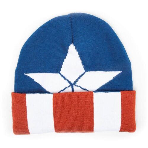 Marvel Avengers Civil War Beanie Hat Unisex Mens Womens Woolly Winter Hats