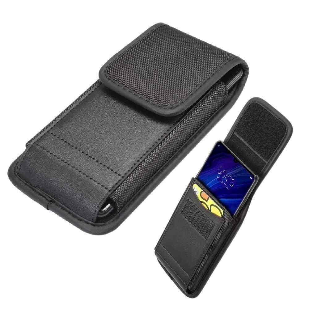 Funda Cinturon para Huawei Mate 10 Lite con Tarjetero Diseño en Piel...