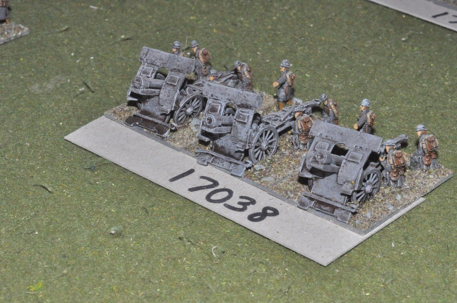 15mm WW1   italian - artillery 3 guns & crews - art (17038)