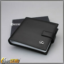 new LEXUS PU Leather CD Case Car DVD Holder Men Disc Album Disk Storage Carry