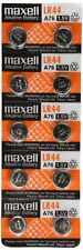 200 NEW LR44 MAXELL A76 L1154 AG13 357 SR44 303 BATTERY FREE SHIPPING FROM USA
