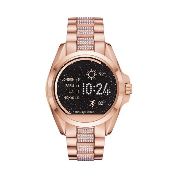 9b02d732987 Michael Kors MKT5018 Access Women s Rose Gold Smartwatch for sale online