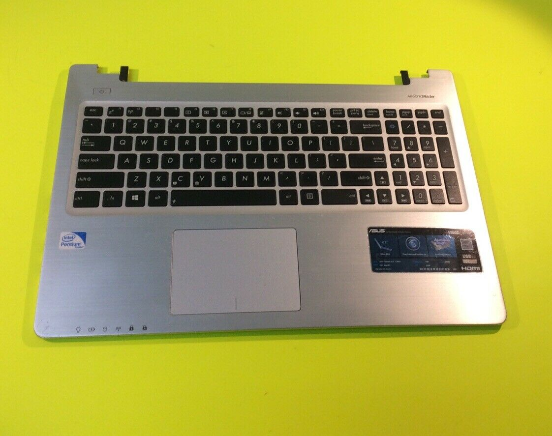 ACS COMPATIBLE with ASUS PALMREST TOP Cover with Keyboard X550ZA Replacement