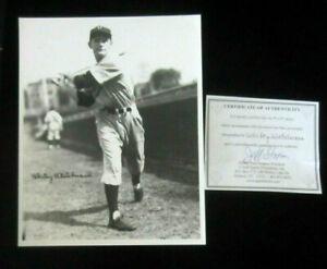 Vintage-Signed-8x10-photo-of-Whitey-Wietelmann-d-039-02-Brooklyn-Dodgers