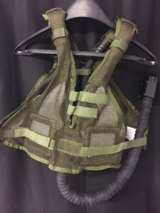 2-NEW-USGI-Microclimate-Cooling-Air-Vest-Flight-Motorcycle-Racing-Survival
