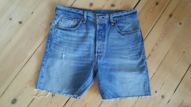 Shorts, Levi's, str. 32,  Demin,  God men brugt, Cowboy…