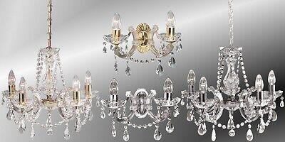 Lustre Luminaire Suspendu Plafonnier Cristal Lustre Applique Murale Chrome Or | eBay