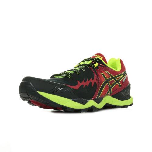 uomo Asics Fuji Gel da Endurance Nero Plasmaguard Sneakers Nero wErqE7
