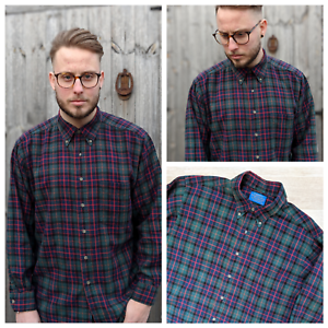 Country-Traditionals-by-Pendleton-L-Shirt-Men-039-s-Colourful-Check-Lumberjack-Twill