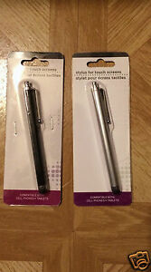 2 Pack Stylus For Touch Screens, Compatible with Cell Phones & Tablets