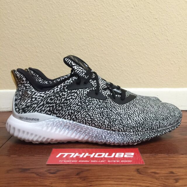 d8b538a16 New ADIDAS Alpha Bounce Shoes Turtle Dove Grey nmd ultra boost B54366 Size  11