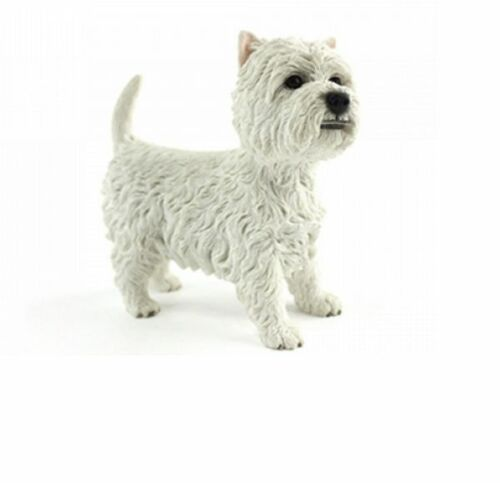 WEST HIGHLAND TERRIER ORNAMENTS DOG GIFT FIGURE FIGURINE BY LEONARDO COLLECTION