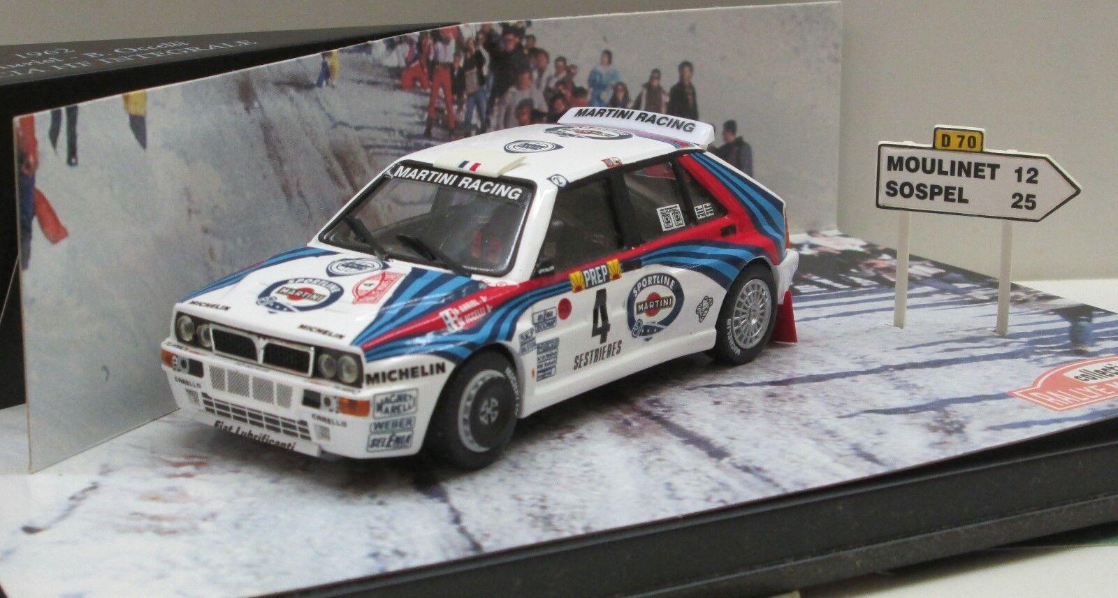Skid smc007: LANCIA DELTA HF INTEGRALE 16v, Winner Rally Monte Carlo 1992